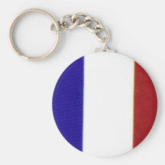 Llavero francés de la bandera