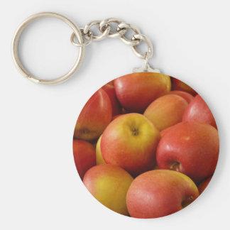 Llavero fresco de las manzanas