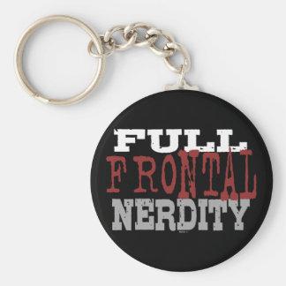 Llavero frontal lleno de Nerdity