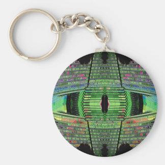 Llavero futurista 1 del diseñador del diseño