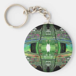 Llavero futurista 2 del diseñador del diseño