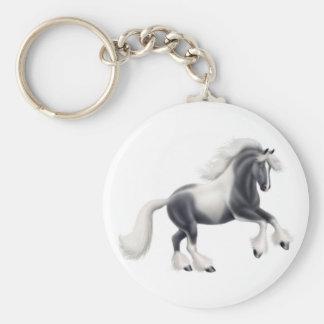Llavero gitano del caballo de la pintura