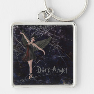 Llavero gótico del ángel oscuro