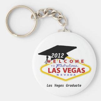 Llavero graduado 2012 de Las Vegas
