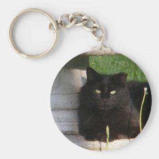 Llavero grande del ~ del gato negro
