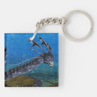 Llavero gris del dragón