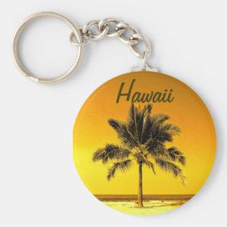Llavero hawaiano de la palmera