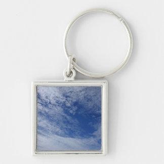 Llavero hermoso de la foto del cielo del invierno