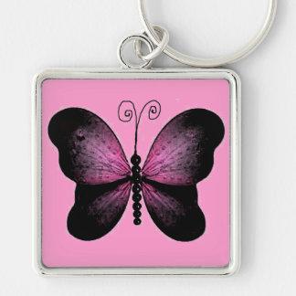 Llavero hermoso de la mariposa