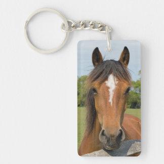 Llavero hermoso del potro de la foto del caballo,
