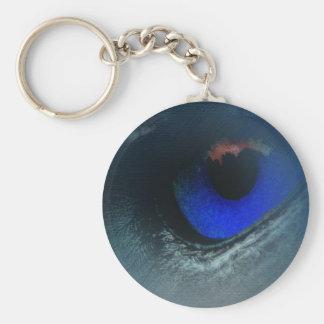 Llavero hermoso (ojo azul)