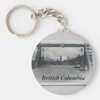 Llavero histórico de la Columbia Británica