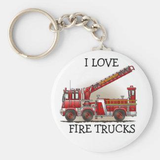Llavero ILFT del coche de bomberos de gancho y de
