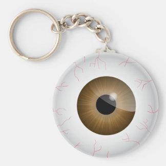 Llavero inyectado en sangre del globo del ojo de B