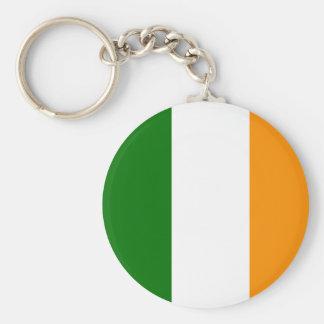 Llavero irlandés de la bandera