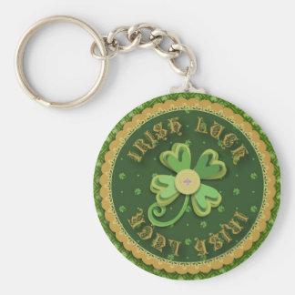 Llavero irlandés de la suerte