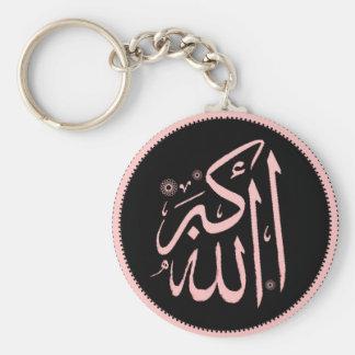 Llavero islámico de Allahu Akbar