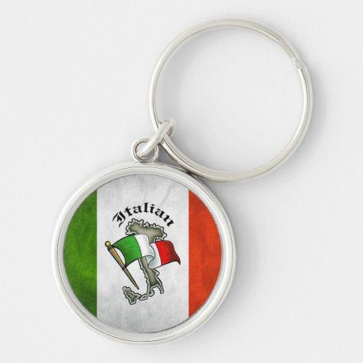 Llavero italiano del italiano de Italia de la band