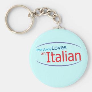 Llavero italiano divertido