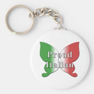 Llavero italiano orgulloso