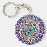 Llavero Jeweled de la mandala de Astrosymbology