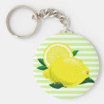 Llavero jugoso de los limones