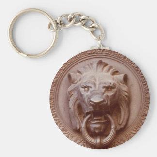Llavero - la cabeza del león