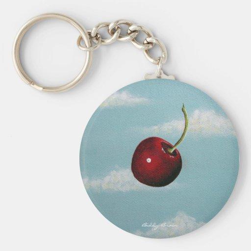 Llavero libre de la caída de la cereza
