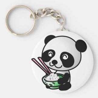 Llavero lindo de la panda