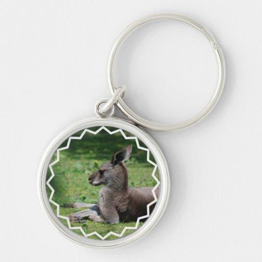 Llavero lindo del canguro