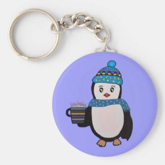 Llavero lindo del pingüino