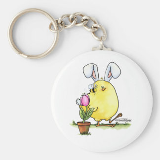 Llavero lindo del polluelo de Pascua