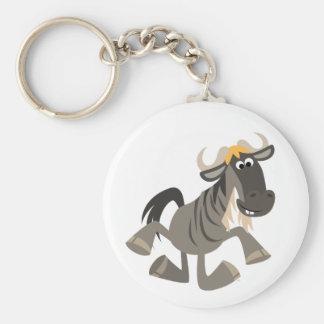 Llavero lindo del Wildebeest del baile de golpecit