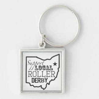 Llavero local de Derby Ohio del rodillo de la