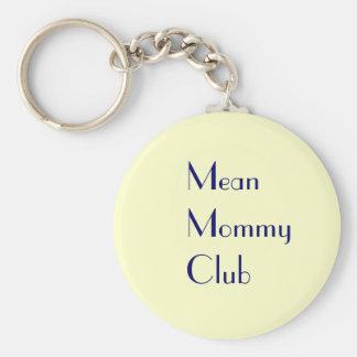 Llavero malo del club de la mamá