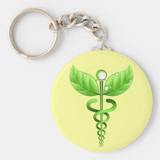 Llavero médico de la medicina alternativa del icon