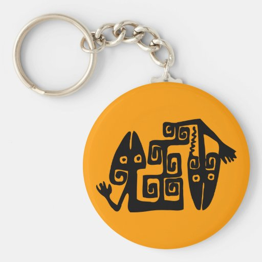 Llavero mexicano antiguo del adorno