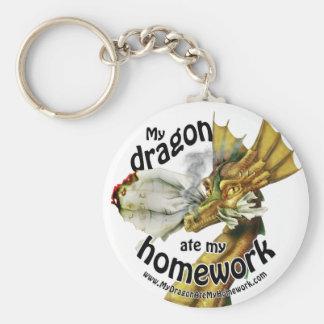 Llavero - mi dragón comió mi preparación