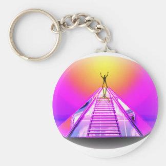 Llavero místico de la pirámide del equinoccio