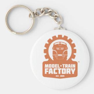 Llavero modelo de la fábrica del tren