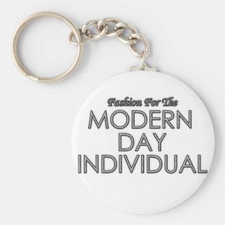 Llavero moderno del individuo del día