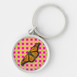 Llavero moderno (lindo) del monarca de la guinga d