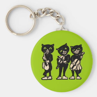 Llavero musical de tres gatos