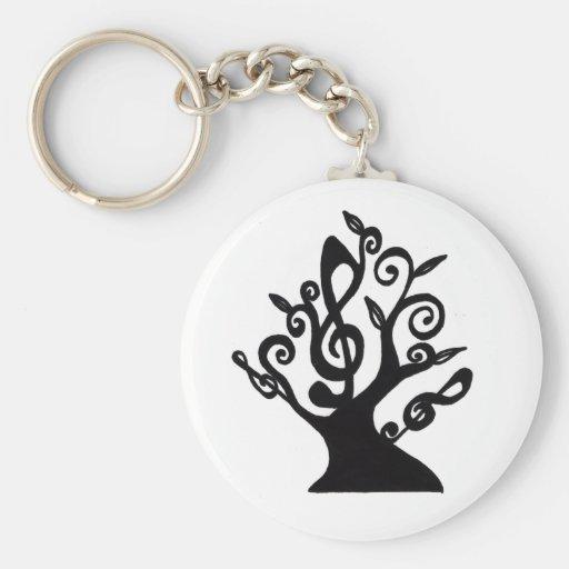 Llavero musical del árbol