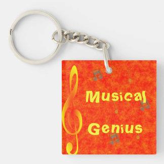 Llavero musical del genio