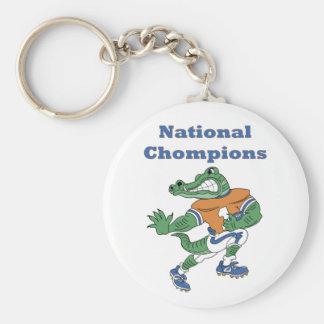 Llavero nacional del cocodrilo de Chompions