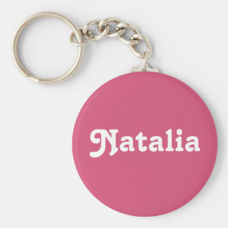 Llavero Natalia
