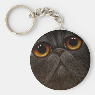 Llavero NEGRO del CAT PERSA