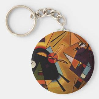Llavero negro y violeta de Kandinsky