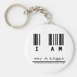 Llavero - no una etiqueta